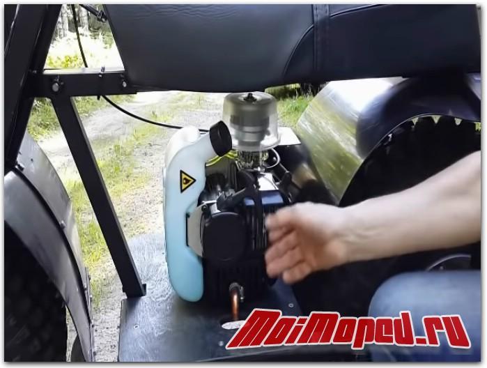Двухмотторный внедорожный мотоцикл Next 2