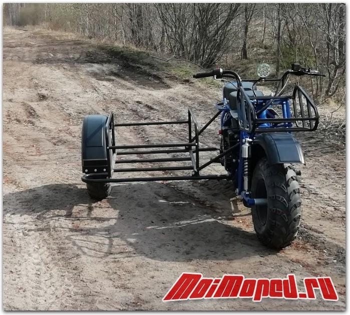 Что выбрать: Трицикл или Мотовездеход с коляской