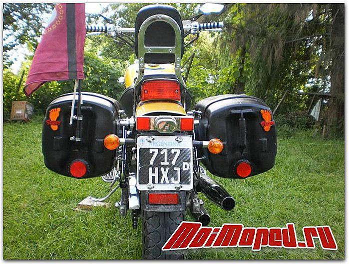 Самодельные кофры для мотоцикла